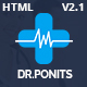DrPonits - Health, Medical, Hospital & Dental Responsive HTML5 Template - ThemeForest Item for Sale