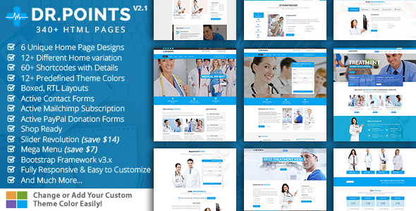 Health & Medical – DrPoints Medical by KodeSolution | ThemeForest