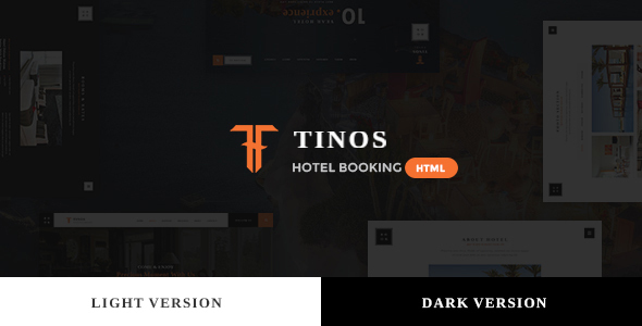 Tinos - Premium Booking Hotel HTML Template - Retail Site Templates