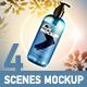 Set 4 Mockup - Shampoo Pump Bottle - GraphicRiver Item for Sale