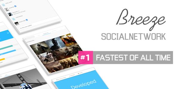 Breeze – Social Network Platform nulled