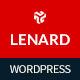 Lenard - Onepage Business Responsive WordPress Theme Nulled