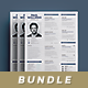 Simple Resume Bundle - GraphicRiver Item for Sale