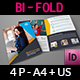 University - College Bi-Fold Brochure Template - GraphicRiver Item for Sale