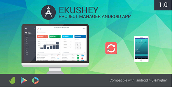 Ekushey Project Manager Android App - CodeCanyon Item for Sale