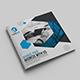 Business Square Bi-Fold Template - GraphicRiver Item for Sale