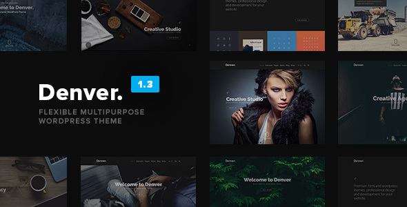 Denver - Flexible Multipurpose WordPress Theme - Corporate WordPress
