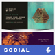 Electronic Music Party vol.15 - Facebook Post Banner Templates