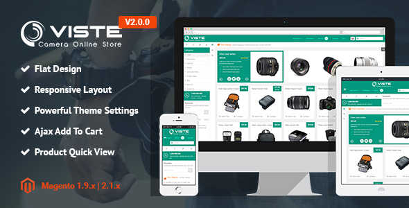 SM Viste – Responsive Multi-Purpose Magento 2 and 1 Theme