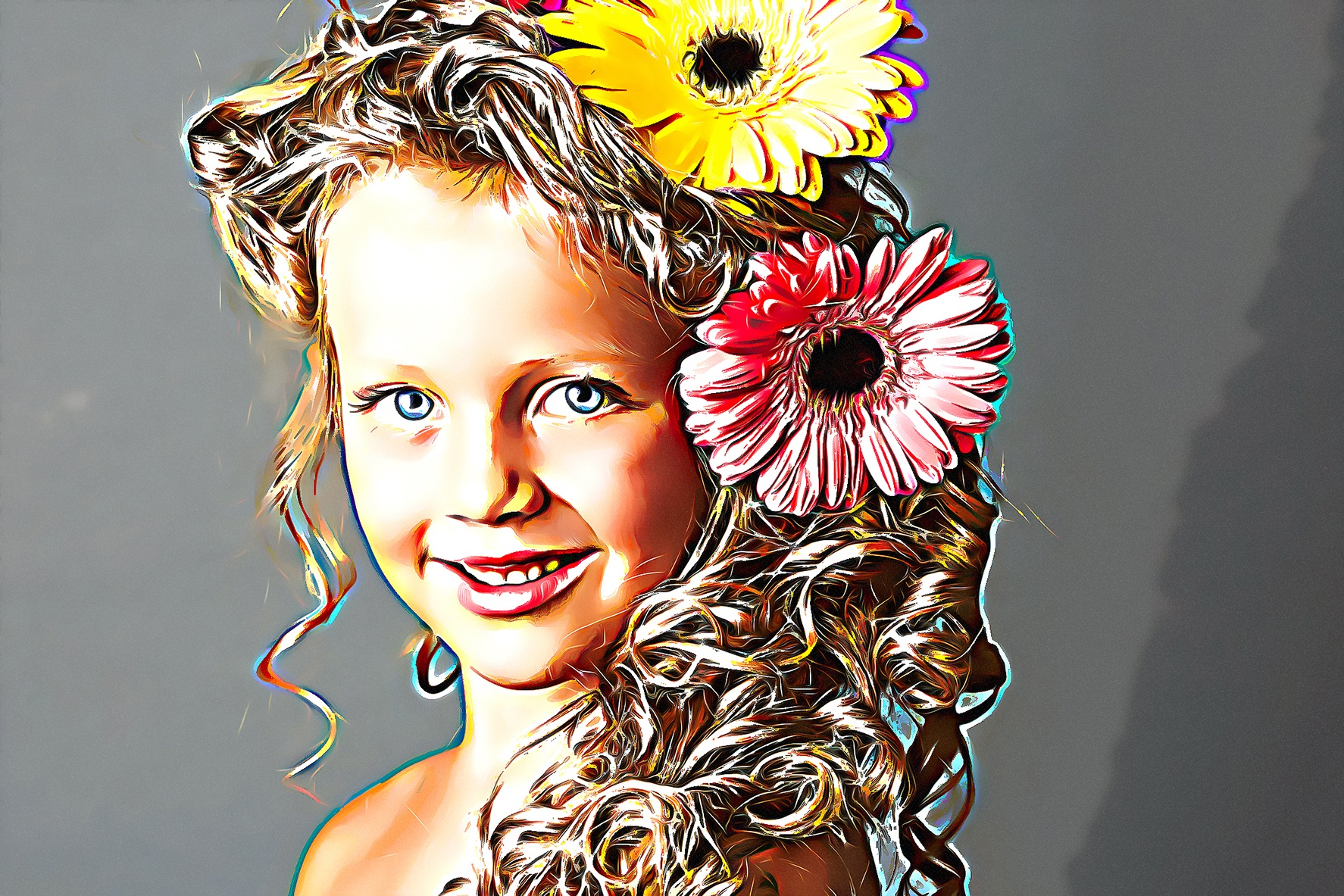 Oil Panting Photoshop Action