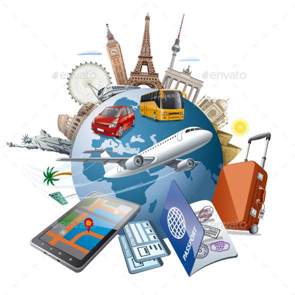 World Travel - Travel Conceptual