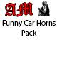 Funny Car Horns Pack