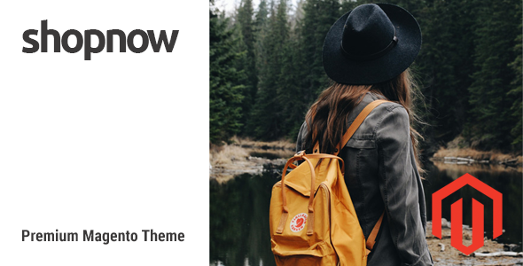 ShopNow – Fluid Responsive Magento Theme