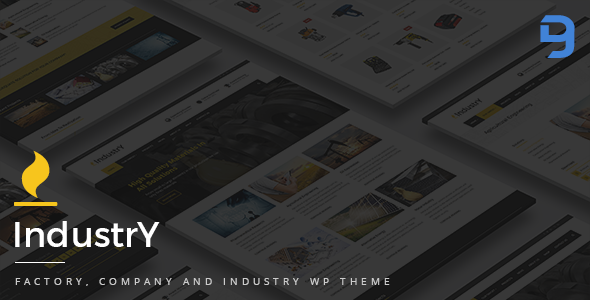 Industry - Factory, Company And Industry WP Theme