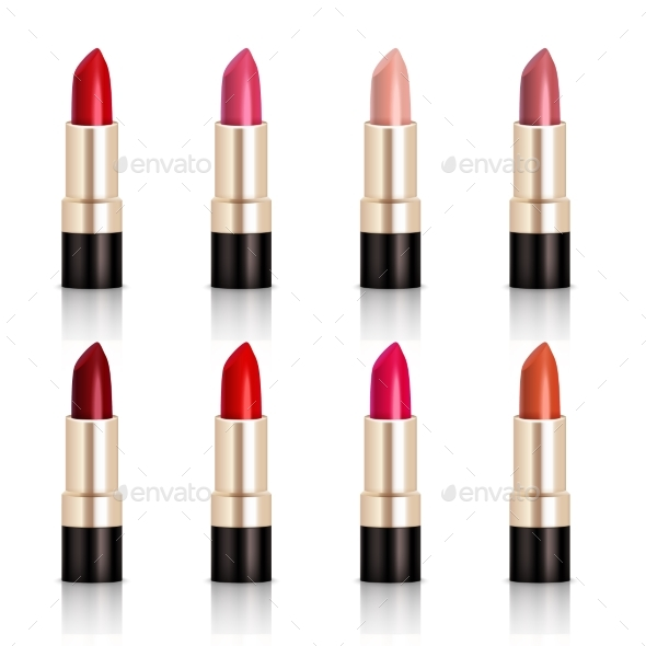 Lipstick Assortment Set - Man-made Objects Objects