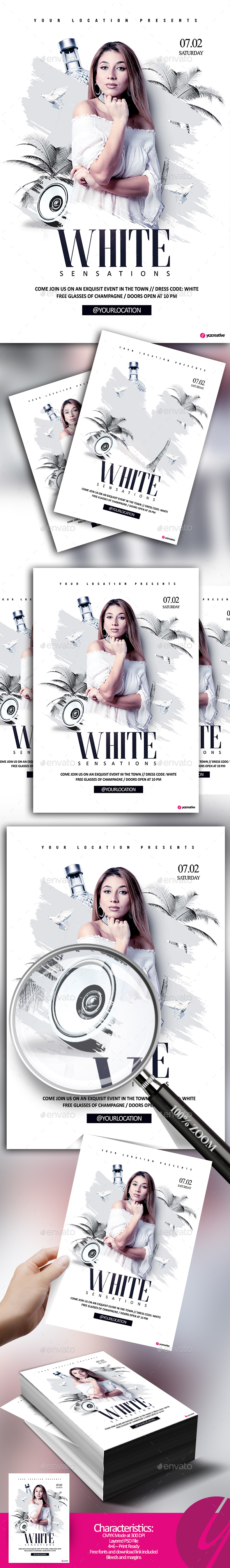White Sensations - Clubs & Parties Events