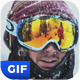 Animated Gif Snow Template - GraphicRiver Item for Sale