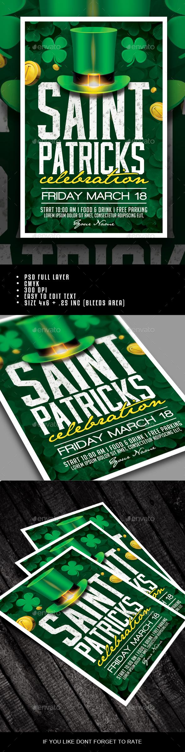 Saint Patricks Day Celebration - Clubs & Parties Events
