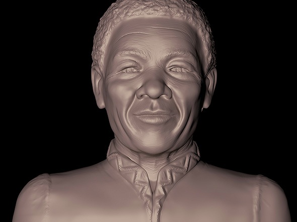 Mr Nelson Mandela - 3DOcean Item for Sale