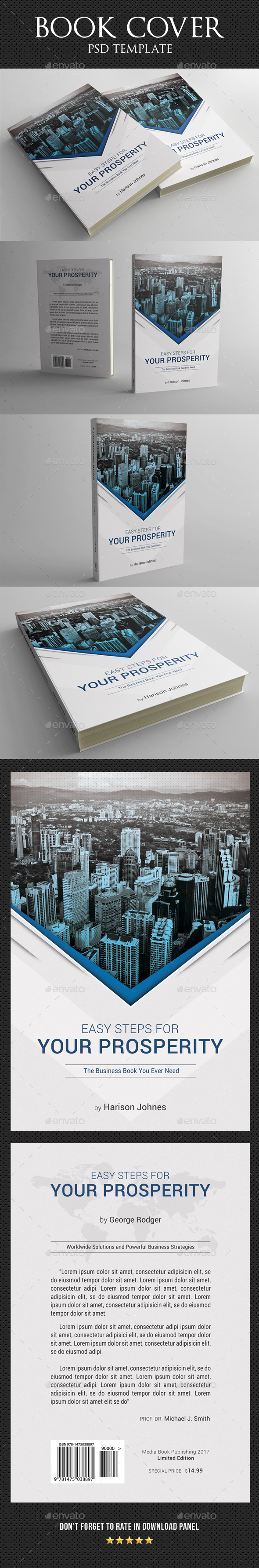 Book Cover Template 31 - Miscellaneous Print Templates