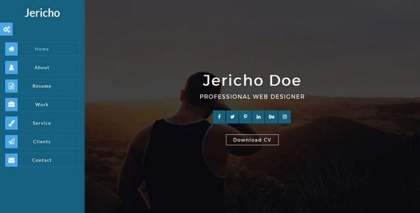 JERICHO-Portfolio/Resume/CV HTML5 Template