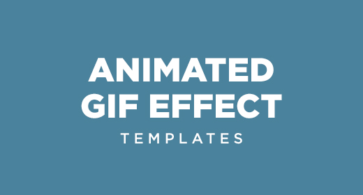 Animated Gif templates