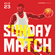 Basketball Match Flyer Template 4 - GraphicRiver Item for Sale