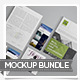 Tri-Fold Flyers Mockup Bundle