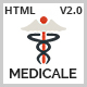 Medicale - Health & Medical Responsive HTML5 Template - ThemeForest Item for Sale
