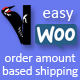 Easy WooCommerce Order Amount Based Shipping