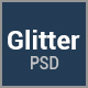 Glitter - One Page Multipurpose Business PSD Template - ThemeForest Item for Sale