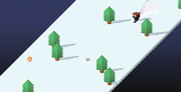 Sky Ski - Html5 AdMob Ready Endless Construct 2 Game - Capx - CodeCanyon Item for Sale