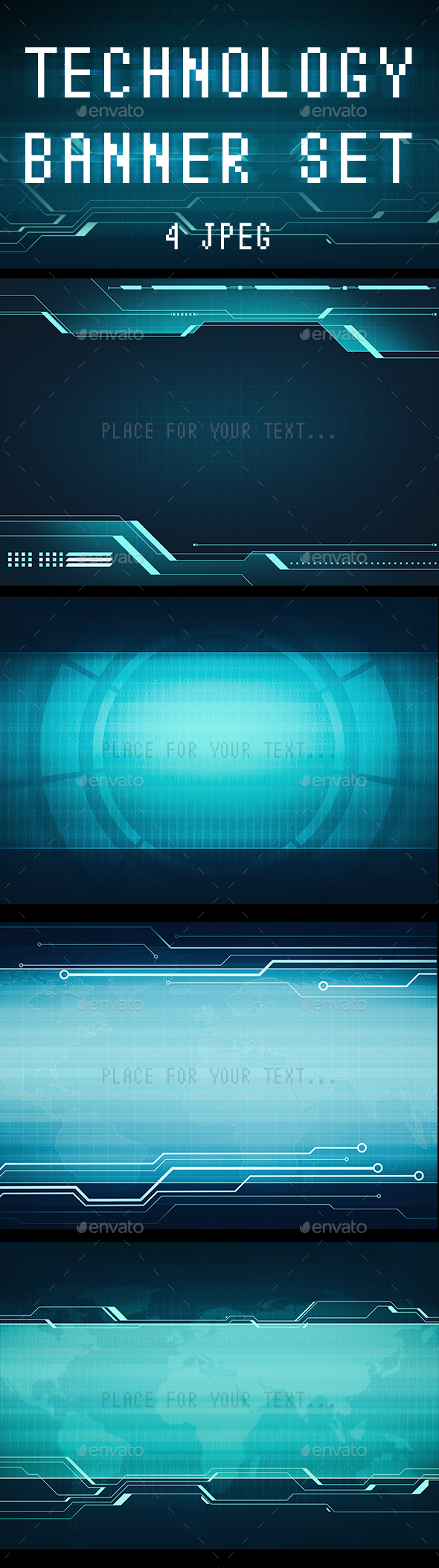 Technology Interface Concept - Tech / Futuristic Backgrounds