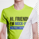 Male T-Shirt Mockups - GraphicRiver Item for Sale