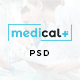Medical - Health Care, Clinic PSD Template