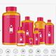 Chemical Bottles Mockups - GraphicRiver Item for Sale
