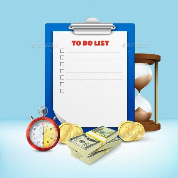 To Do List Composition - Miscellaneous Vectors