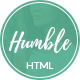 Humble - Personal Blog HTML Template - ThemeForest Item for Sale