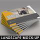 Landscape Magazine / Brochure Mock-Up - GraphicRiver Item for Sale
