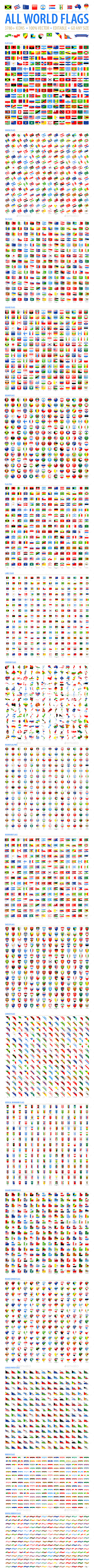 All World Flags - Grand Collection - Icons