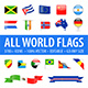 All World Flags - Grand Collection - GraphicRiver Item for Sale