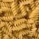 Uncooked Italian Macaroni Pasta Rotating