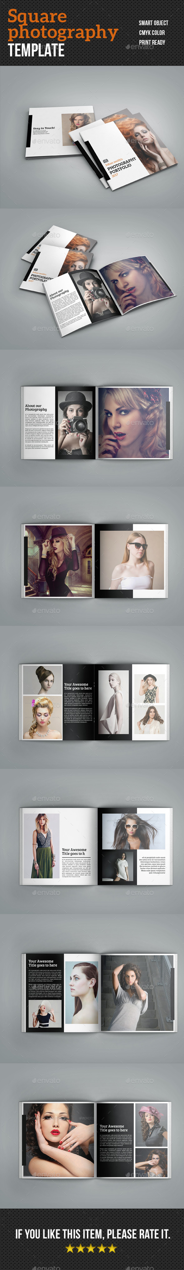 Square Photography Brochure - Corporate Brochures