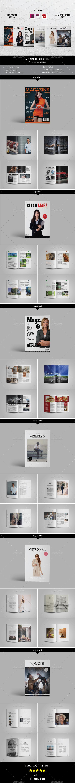 Multipurpose Magazine Bundle Vol. 4 - Magazines Print Templates