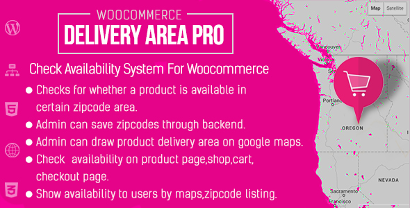 Woo Delivery Area Pro - CodeCanyon Item for Sale