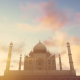 Taj Mahal, Agra, India Timelapse - VideoHive Item for Sale