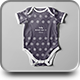 Baby Bodysuit Mock-up - GraphicRiver Item for Sale