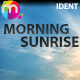 Morning Sunrise Ident - AudioJungle Item for Sale
