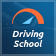 Driving School - Car, Driving & Automobile WordPress Theme Nulled