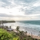 Tropical Scene Sunset on a Balangan Beach, Bali Island, Indonesia. View From the Cliff - VideoHive Item for Sale